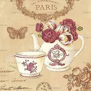 Вышивка бисером «Завтрак в Париже», ВБ 1060