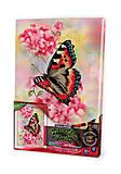 Вышивка гладью по номерам «Бабочка на цветке», VGL-02-10, отзывы