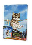 Вышивка гладью по номерам на растяжке  «Котенок», VGL-02-04, купити