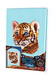 Вышивка гладью по номерам «Тигр», VGL-02-05, доставка