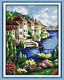 Вышивка картины «Живописный залив», F188, купить