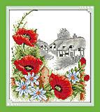 Вышивка картины «Летний день» крестиком, H350, купить