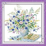 Вышивка картины «Романтичный букет» крестиком, H303