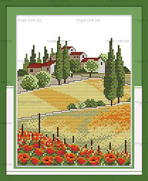 Вышивка картины «Сельские просторы», F150