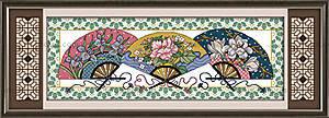 Вышивка картины «Восточный мотив» крестиком, J035
