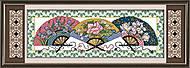 Вышивка картины «Восточный мотив» крестиком, J035, отзывы