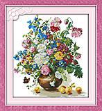 Вышивка картины «Яркий букет», H306, купить