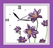 Вышивка крестиком «Часы. Цветочный аромат», G012, купить