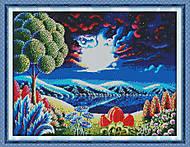 Вышивка крестиком «Фантастический пейзаж», F315, фото