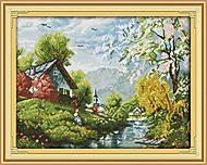Вышивка крестиком «Живописная деревня», F384, купить
