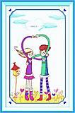 Вышивка крестиком, картина «Любовь», R043
