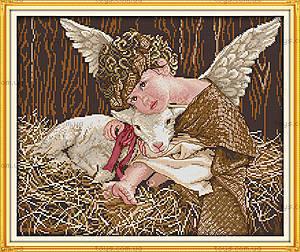 Вышивка крестиком картины «Ангелочек», R510