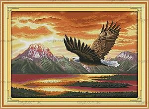 Вышивка крестиком картины «Орел», D427