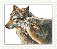 Вышивка крестиком картины «Поцелуй волка», D420, купить