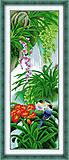 Вышивка крестиком картины «Райский сад», H072(2), отзывы