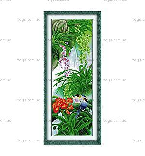 Вышивка крестиком картины «Райский сад», H072(2)
