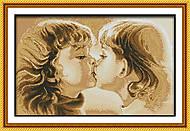 Вышивка крестиком картины «Сладкое детство», R227, отзывы