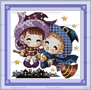 Вышивка крестиком «Маленькие ведьмы», K014