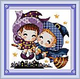 Вышивка крестиком «Маленькие ведьмы», K014, купить