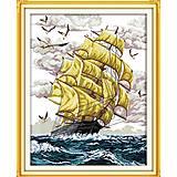 Вышивка крестиком «На волнах», F054(1), фото