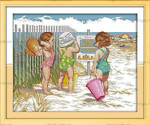 Вышивка крестиком «Пляжницы», R469