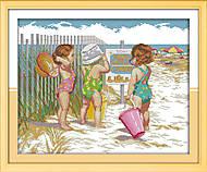 Вышивка крестиком «Пляжницы», R469, купить