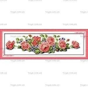 Вышивка крестиком «Розовая мечта», H030