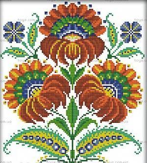 Вышивка крестиком «Украинские узоры», H270