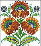 Вышивка крестиком «Украинские узоры», H270, фото