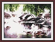 Вышивка крестиком «Восточный пейзаж», F062, фото