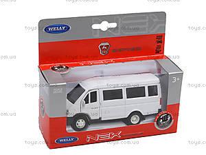 Машина ГАЗ 3221, 42387A-W, детские игрушки
