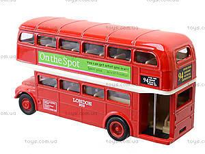 Набор машинок Welly «Лондонский автобус и такси», 99930-2G, цена