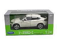 Машина BMW X6, 24004W, toys.com.ua