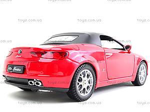 Игрушечный автомобиль  Alfa Spider, 22484H-W, купить