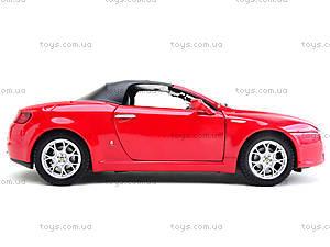 Игрушечный автомобиль  Alfa Spider, 22484H-W, игрушки
