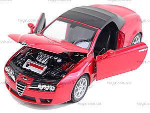 Игрушечный автомобиль  Alfa Spider, 22484H-W, магазин игрушек
