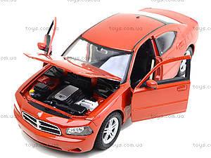 Машина Dodge Charger, 22476S-W, игрушки