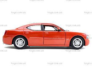 Машина Dodge Charger, 22476S-W, магазин игрушек
