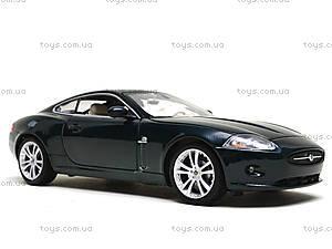 Коллекционная машина Jaguar Xk Coupe 6, 22470W, детские игрушки