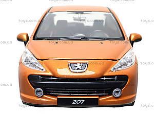 Модель автомобиля Peugeot 207, 22492W, игрушки