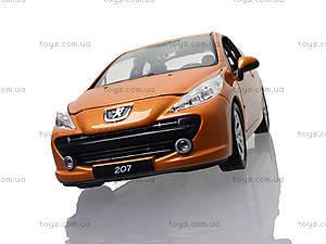Модель автомобиля Peugeot 207, 22492W, детские игрушки
