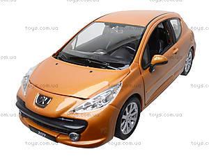 Модель автомобиля Peugeot 207, 22492W, toys.com.ua