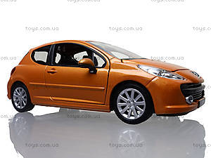 Модель автомобиля Peugeot 207, 22492W, toys