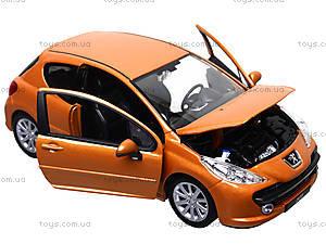 Модель автомобиля Peugeot 207, 22492W, іграшки