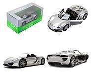 Модель машины Porsche 918 Spyder, 24031W, купить