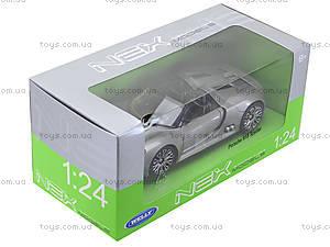 Модель машины Porsche 918 Spyder, 24031W, отзывы