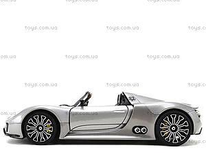 Модель машины Porsche 918 Spyder, 24031W, детские игрушки