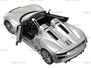 Модель машины Porsche 918 Spyder, 24031W, магазин игрушек
