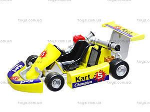 Игрушечная машина для картинга Go-Kart, 92670W, отзывы