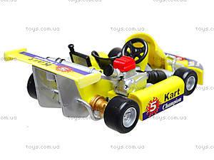 Игрушечная машина для картинга Go-Kart, 92670W, игрушки